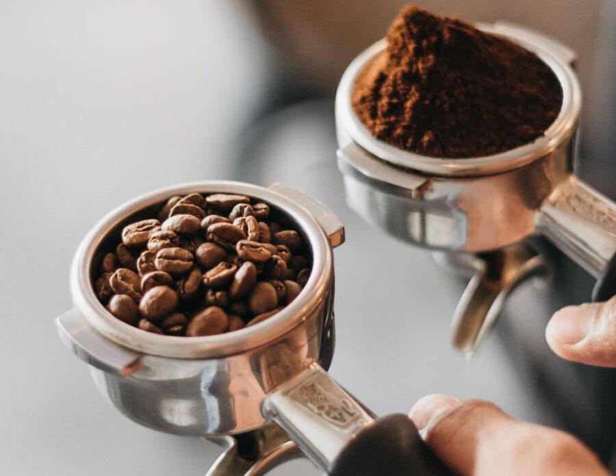 variety of cafe espresso