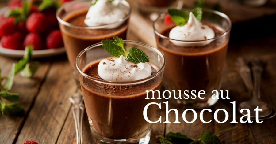Mousse au Chocolata Μους σοκολάτα