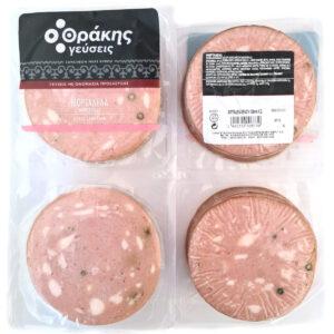 Μορταδέλα σε φέτες Επαγγελματική συσκευασία 700gr - Θράκης Γεύσεις