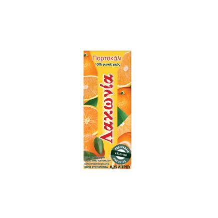 Φυσικός Χυμός Πορτοκάλι Λακωνία 250ml