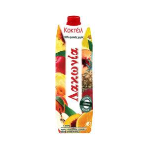 Φυσικός Χυμός Λακωνία Coctail 6 φρούτων 1 λίτρο