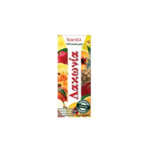 Φυσικός Χυμός Λακωνία Coctail 6 φρούτων 250ml