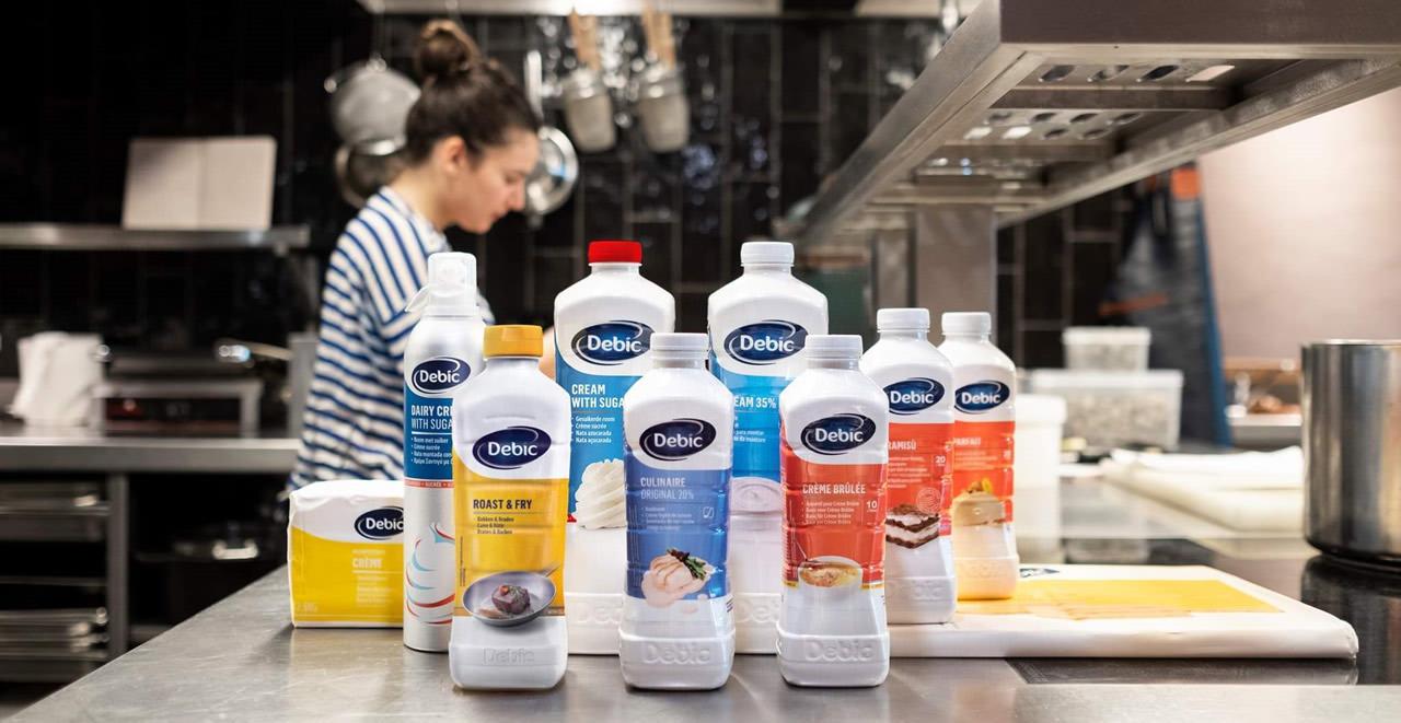 Debic Products Γαλακτοκομικά προϊόντα για επαγγελματίες