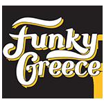 funky greece tea logo